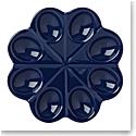 kate spade new york Lenox Stoneware Nolita Blue Navy Egg Tray