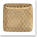 Lenox Global Tapestry Small Square Tray Gold 6""