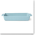 Kate Spade China by Lenox, Stoneware Willow Drive Blue Rectangular Baker