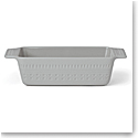 Kate Spade China by Lenox, Stoneware Willow Drive Grey Loaf Pan