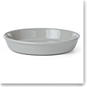 Kate Spade China by Lenox, Stoneware Willow Drive Grey Pie Dish