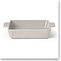 kate spade new york Lenox Stoneware Willow Drive Grey Square Baker