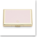 kate spade new york Lenox Spade Street Gold Business Card Holder, Blush