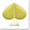 kate spade new york Lenox Spade Street Gold Jewelry Dish, Citron Spade