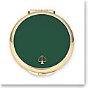 kate spade new york Lenox Spade Street Gold Compact, Green
