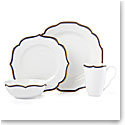 Lenox Contempo Luxe Sapphire Dinnerware 4 Piece Place Setting
