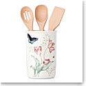 Lenox Butterfly Meadow Dinnerware Utensil Jar With Utensils