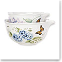 Lenox Butterfly Meadow Dinnerware Nest Mix Bowl Pair