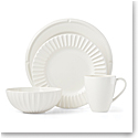 Kate Spade China by Lenox, Tribeca Cream 4 Piece Plate Set