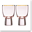 Lenox Trianna Blush Wine Glass Pair
