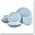 Kate Spade China by Lenox, Stoneware Willow Drive Blue 12pc Set