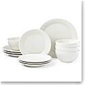 Kate Spade China by Lenox, Stoneware Willow Drive Cream 12pc Set