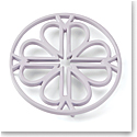 Kate Spade New York, Lenox Spade Flower Metal Trivet Lilac