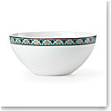 Lenox Global Tapestry Aquamarine Lotus Dinnerware Dip Bowl