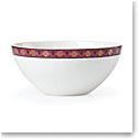 Lenox Global Tapestry Garnet Mandala Dinnerware Dip Bowl