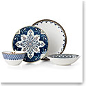 Lenox Global Tapestry Sapphire Dinnerware 4 Piece Place Setting