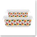 Kate Spade New York, Lenox Geo Spade Rectangular Food Storage Set Of Four