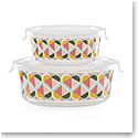 Kate Spade New York, Lenox Geo Spade Round Food Storage Set Of Four