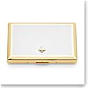Kate Spade New York, Lenox Spade St Metal Cardholder White