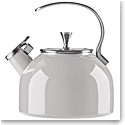 Kate Spade New York, Lenox Metal Kettle Light Grey