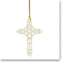 Lenox Snow Fantasies 2020 Cross Ornament