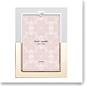"""Kate Spade New York, Lenox With Love Metal 5x7"""" Picture Frame"""