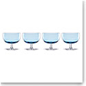 Lenox Valencia Blue Cocktail Glass Set Of Four