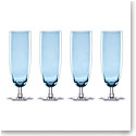 Lenox Valencia Blue Flute Set Of Four