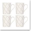 Lenox Textured Neutrals Dinnerware Tup Mug Set Of Four