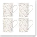 Lenox Textured Neutrals Dinnerware Tup Mug Set Of Four