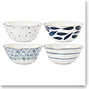 Lenox Blue Bay Dinnerware All Purpose Bowls Set Of Four