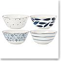 Lenox Blue Bay Dinnerware All Purpose Bowls Set Of Four