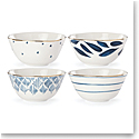 Lenox Blue Bay Dinnerware Dessert Bowls Set Of Four