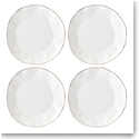 Lenox Blue Bay Dinnerware Dinner Plate White Set Of Four