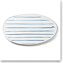 Lenox Blue Bay Stripe Dinnerware Oblong Tray