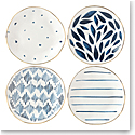 Lenox Blue Bay Dinnerware Tidbits Set Of Four