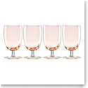 Lenox Valencia Peach All Purpose Glass Set Of Four