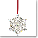 Lenox Silver Snow Majesty 2020 Ornament