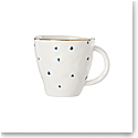 Lenox Blue Bay Dot Dinnerware Dessert Mug
