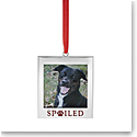 Lenox 2021 Spoiled Pet Frame Charm Metal Ornament