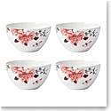 Lenox Sprig And Vine Dinnerware All Purpose Bowlwhite Set Of Four