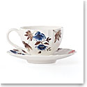 Lenox Sprig And Vine Dinnerware Cup Saucer Set White