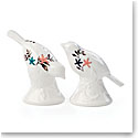 Lenox Sprig And Vine Dinnerware Salt And Pepper White