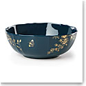 Lenox Sprig And Vine Dinnerware Serving Bowl Navy
