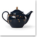 Lenox Sprig And Vine Dinnerware Teapot Navy