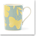 Kate Spade China by Lenox, Petal Ln Floral Mug Yellow Flower