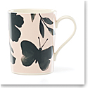 Kate Spade China by Lenox, Petal Ln Floral Mug Green Flower