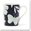 Kate Spade China by Lenox, Petal Ln Floral Mug Mint Flower