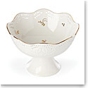 Lenox Opal Inn Flourish Dinnerware Footed Centerpiece Bowl
