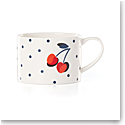 Kate Spade China by Lenox, Vintage Cherry Dot Weekend Mug